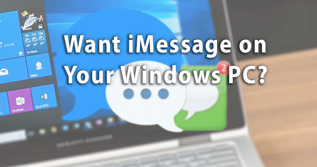 iMessage on your windows PC