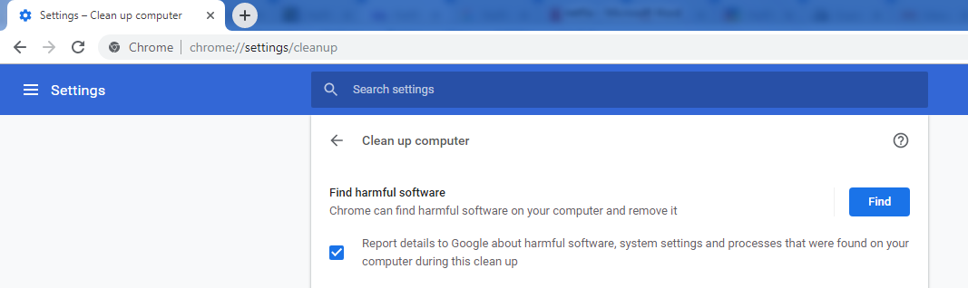 Malware issues